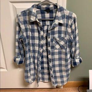 Long sleeved button down shirt